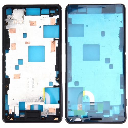 Front Housing LCD Frame Bezel Plate for Sony Xperia Z3 Compact / D5803 / D5833(Black)