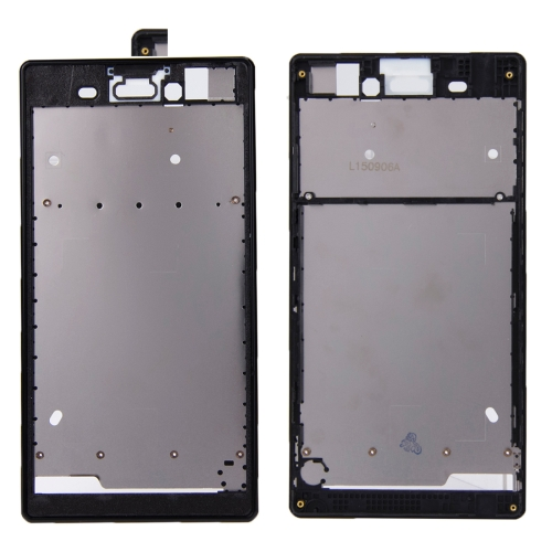 Buy iPartsBuy Front Housing Replacement with Adhesive Sticker for Sony Xperia T3, Black for $4.90 in SUNSKY store