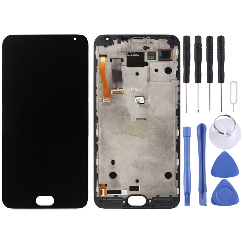 Buy iPartsBuy for Meizu MX5 LCD Screen + Touch Screen Digitizer Assembly with Frame, Black for $70.18 in SUNSKY store