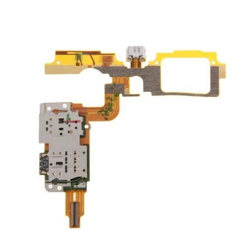 SUNSKY - Charging Port Flex Cable + SIM Card Reader Contact