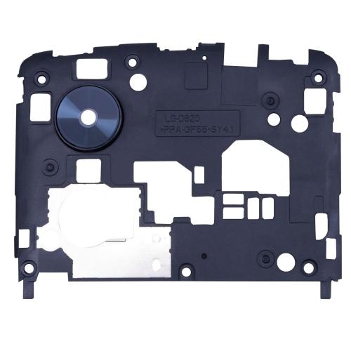 Back Plate Housing Camera Lens Panel Replacement for Google Nexus 5 / D820 / D821(Black)