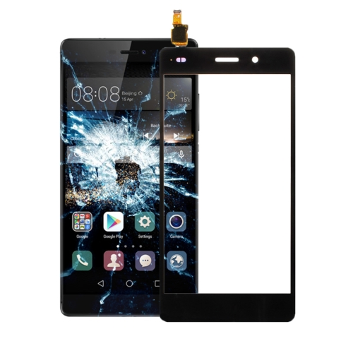 For Huawei P8 Lite Touch Panel Digitizer(Black)