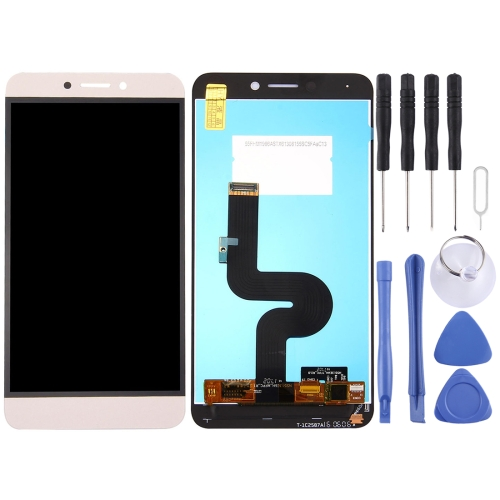 LCD Screen and Digitizer Full Assembly for Letv Le 1s / X500 / X501 / X502 (Gold)