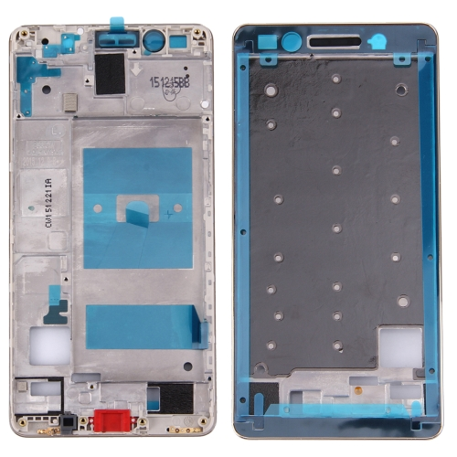 For Huawei Honor 7 Front Housing LCD Frame Bezel Plate(Gold)