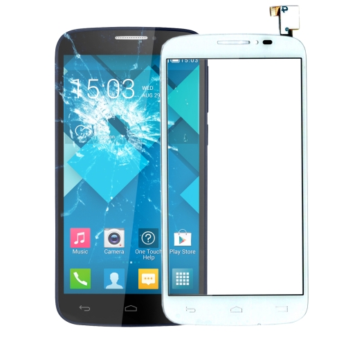 Touch Panel for Alcatel One Touch Pop C7 / 7040 / 7041(White)