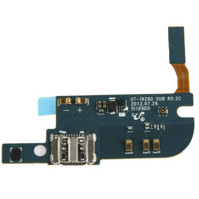 Buy iPartsBuy for Samsung Galaxy Premier / i9260 Original Tail Plug Flex Cable for $3.18 in SUNSKY store