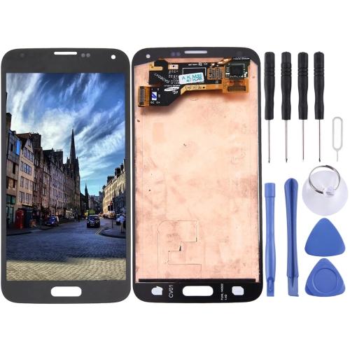 Original LCD Screen and Digitizer Full Assembly for Galaxy S5 / G9006V / G900F / G900A / G900I / G900M / G900V(Black)