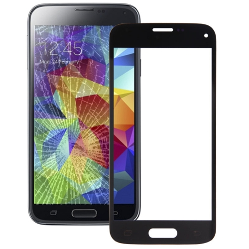 Buy Front Screen Outer Glass Lens for Samsung Galaxy S5 mini, Black for $1.56 in SUNSKY store