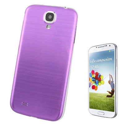 Buy Full Metallic Brushed Replacement Battery Cover for Samsung Galaxy S IV / i9500, Purple for $2.15 in SUNSKY store