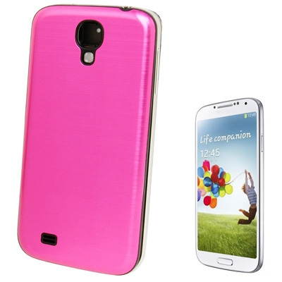 Buy Full Metallic Brushed Replacement Battery Cover for Samsung Galaxy S IV / i9500, Magenta for $2.15 in SUNSKY store