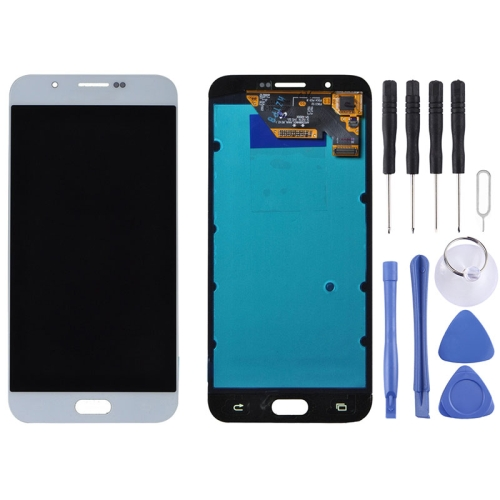 Buy iPartsBuy for Samsung Galaxy A8 / A8000 LCD Display + Touch Screen Digitizer Assembly, White for $116.00 in SUNSKY store