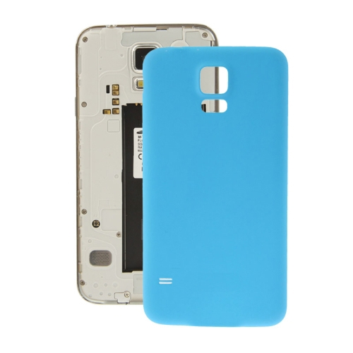 Buy Anti-scratch Plastic Replacement Battery Cover for Samsung Galaxy S5 / G900, Blue for $2.66 in SUNSKY store