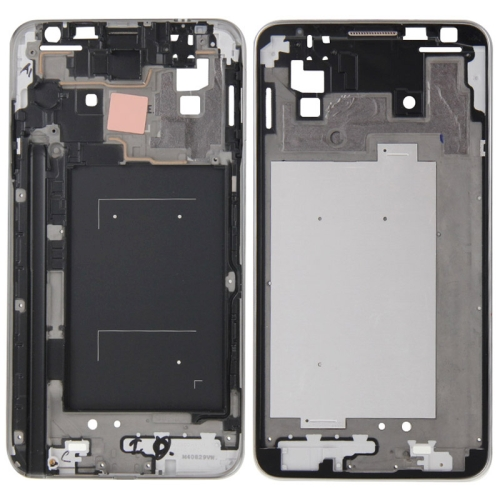 Front Housing LCD Frame Bezel Plate Replacement for Galaxy Note 3 Neo / N7505
