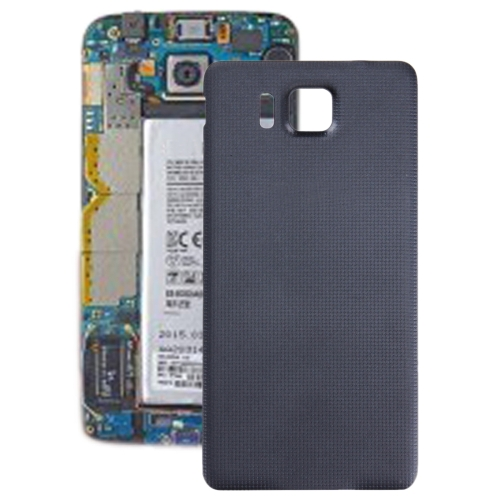 Battery Back Cover for Galaxy Alpha / G850(Black)