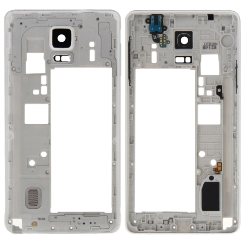 14a6d4f089f SUNSKY - Marco medio Bazel Placa trasera carcasa Reemplazo del panel de la  lente de la cámara con zumbador de timbre y orificio del auricular para  Samsung ...