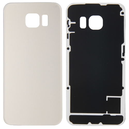 Battery Back Cover for Galaxy S6 Edge / G925 (Gold)