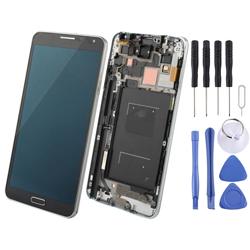 Buy iPartsBuy LCD Display + Touch Screen Digitizer Assembly with Frame Replacement for Samsung Galaxy Note III / N900V, Black for $94.88 in SUNSKY store