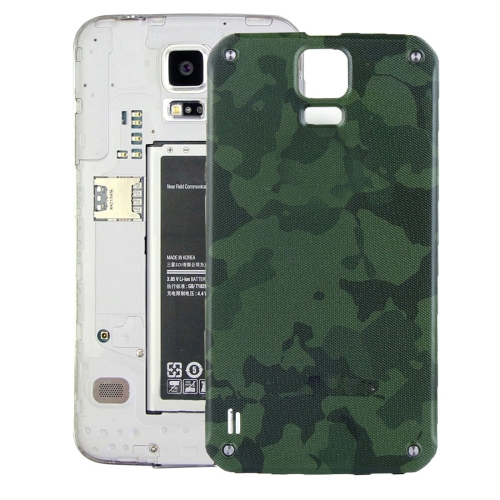 Buy iPartsBuy Battery Back Cover for Samsung Galaxy S5 Active / G870, Green for $5.86 in SUNSKY store