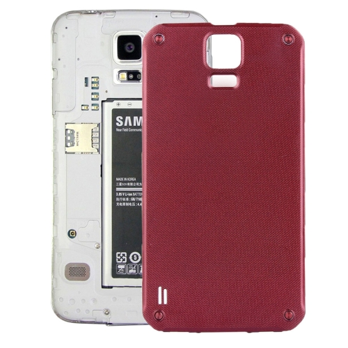 iPartsBuy Original Battery Back Cover for Samsung Galaxy S5 Active / G870, Red