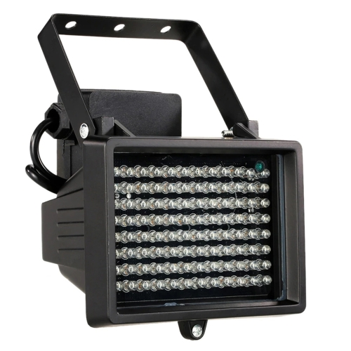 Buy 96 LED Auxiliary Light for CCD Camera, IR Distance: 100m (ZT-496WF), Size: 13x16.8x11cm, Black for $33.19 in SUNSKY store
