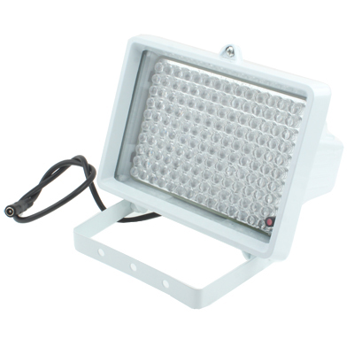 140 LED Auxiliary Light for CCD Camera, IR Distance: 150m (ZT-140LF), Size: 11x17x12.5cm, White