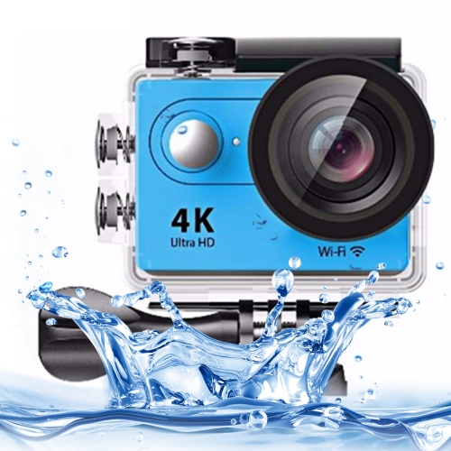 Buy H9 4K Ultra HD1080P 12MP 2 inch LCD Screen WiFi Sports Camera, 170 Degrees Wide Angle Lens, 30m Waterproof, Blue for $38.26 in SUNSKY store