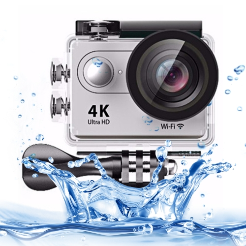 Buy H9 4K Ultra HD1080P 12MP 2 inch LCD Screen WiFi Sports Camera, 170 Degrees Wide Angle Lens, 30m Waterproof, Silver for $38.26 in SUNSKY store