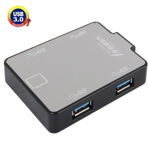 Buy 4-Port USB 3.0 HUB, Super Speed 5Gbps, Plug and Play for $10.80 in SUNSKY store