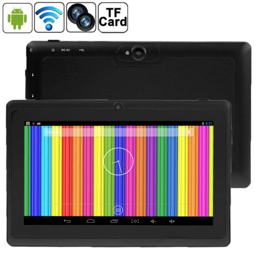 Tablet PC, 7.0 inch, 512MB+8GB, Android 4.4 Allwinner A33 Quad Core 1.5GHz(Black)