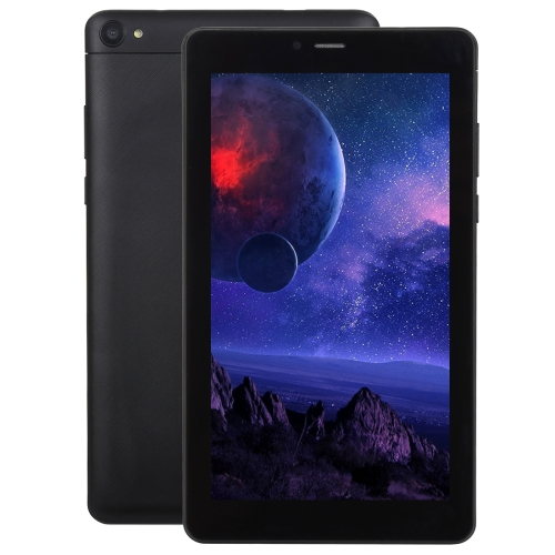 3G Mobile Phone Tablet PC, 7.0 inch, 1GB+8GB, Android 5.1 MTK8321 Quad Core Cortex A7 up to 1.2GHz, GPS, WiFi, BT(Black) tablets 10 inch wifi tablet android pc aoson m106nb android 4 4 ips screen quad core mtk8217 1gb 8gb 2 5 0mp 6000mah battery