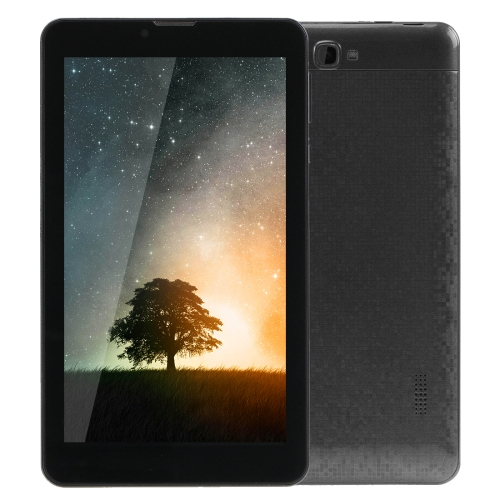 3G Mobile Phone Tablet PC, 7.0 inch, 1GB+8GB, S728A Android 5.1 MTK8321 A7 Quad Core 1.3GHz, Dual SIM(Black)