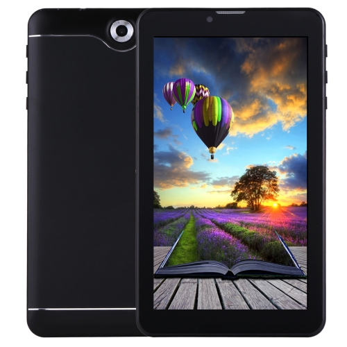 7.0 inch Tablet PC, 512MB+8GB, 3G Phone Call, Android 4.4.2, MTK6582 Quad Core up to 1.3GHz, Dual SIM, WiFi, OTG, Bluetooth(Black)