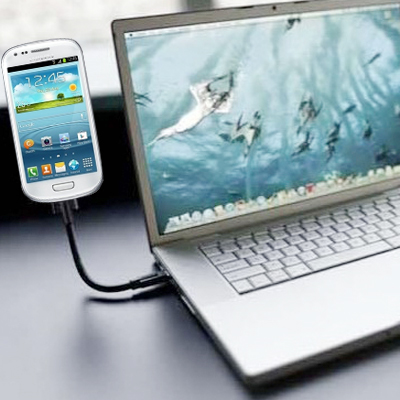 Buy Micro USB to USB 2.0 Data / Charging Flexible Cable for Samsung Galaxy S6 / S5 / S IV / i9500 / S III / i9300 / Note II / N7100 / i9220 / i9100 / i9082 / Nokia / HTC, Length: 20cm, Black for $4.01 in SUNSKY store