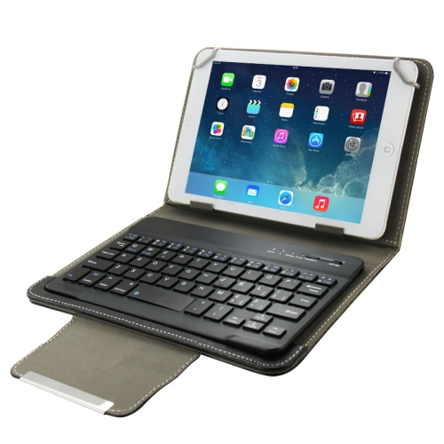 Universal Leather Case with Separable Bluetooth Keyboard and Holder for 10.1 inch Tablet PC(Black) фото