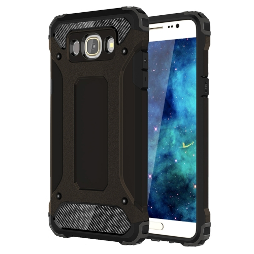 For Galaxy J5 (2016) / J510 Tough Armor TPU + PC Combination Case(Black)