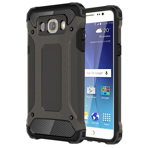 For Samsung Galaxy J7, 2016 / J710 Tough Armor TPU + PC Combination Case, Bronze