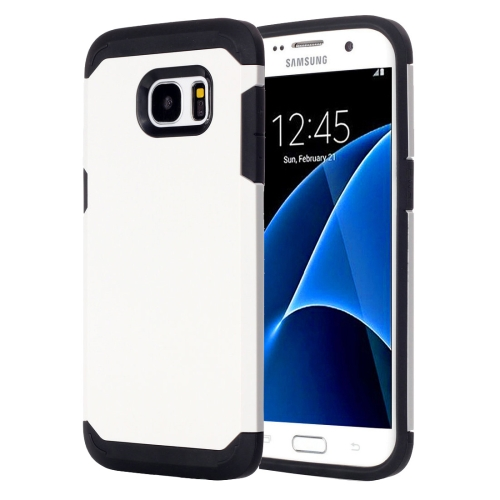 Buy For Samsung Galaxy S7 / G930 TPU + PC Armor Combination Case, White for $1.49 in SUNSKY store