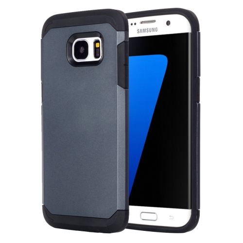 Buy For Samsung Galaxy S7 Edge / G935 TPU + PC Armor Combination Case(Dark Blue) for $1.57 in SUNSKY store