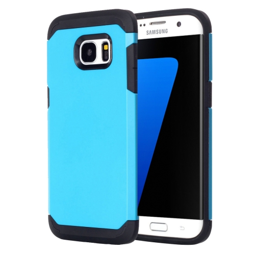 Buy For Samsung Galaxy S7 Edge / G935 TPU + PC Armor Combination Case, Blue for $1.57 in SUNSKY store