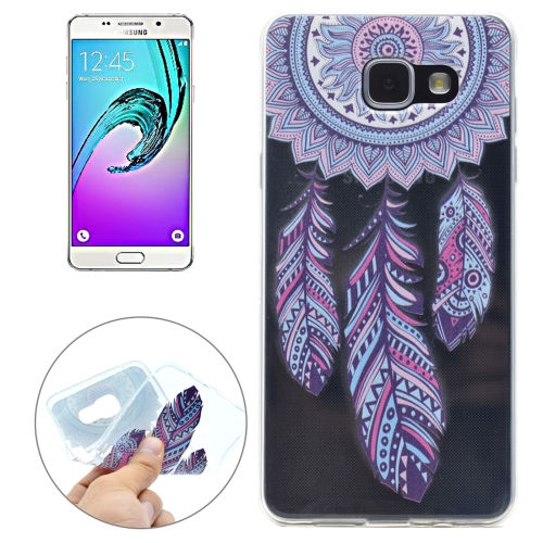 Buy For Samsung Galaxy A5, 2016 / A510 Windmill Pattern Transparent Soft TPU Protective Back Cover Case for $1.16 in SUNSKY store