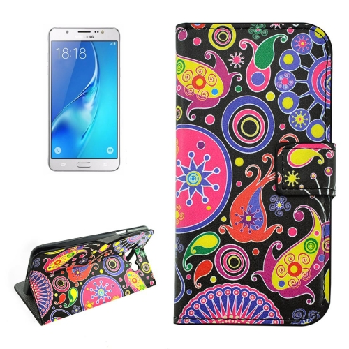 Buy For Samsung Galaxy J5, 2016 / J510 Acaleph Pattern Horizontal Flip Leather Case with Holder & Card Slots & Wallet for $2.17 in SUNSKY store