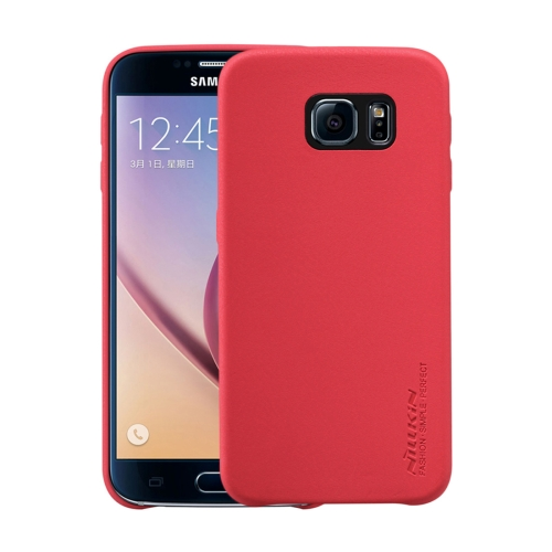 Buy NILLKIN Victoria Leather Cover for Samsung Galaxy S6 / G920 Leather Surface Microfiber Lining Protective Case Back Cover, Red for $6.25 in SUNSKY store