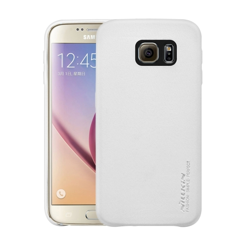Buy NILLKIN Victoria Leather Cover for Samsung Galaxy S6 / G920 Leather Surface Microfiber Lining Protective Case Back Cover, White for $6.25 in SUNSKY store