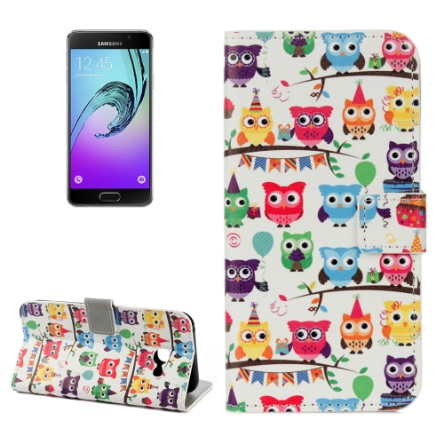 Buy For Samsung Galaxy A5, 2017 / A520 Many Heads Owls Pattern Litchi Texture Horizontal Flip Leather Case with Holder & Card Slots & Wallet for $2.33 in SUNSKY store