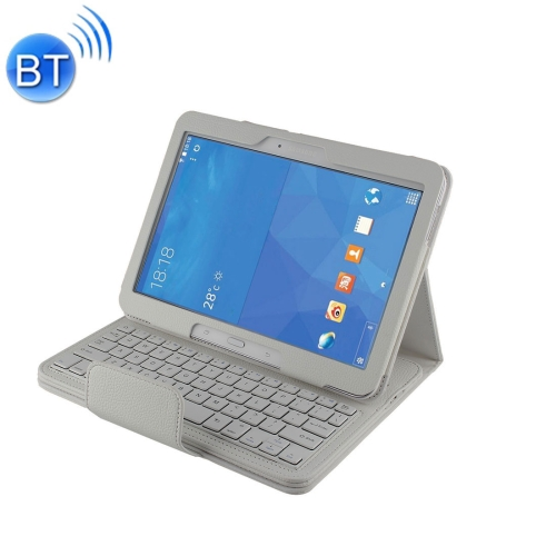 Buy For Samsung Galaxy Tab 4 10.1 / T530 Separable Litchi Texture Horizontal Flip Leather Case + Bluetooth Keyboard with Holder & Selfie Function, White for $14.65 in SUNSKY store