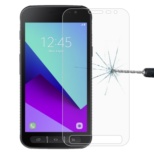 For Galaxy Xcover 4 / G390F 0.26mm 9H Surface Hardness Explosion-proof Non-full Screen Tempered Glass Screen Film