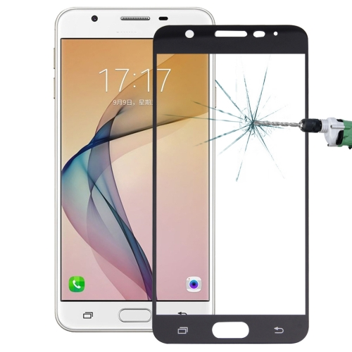 Buy For Samsung Galaxy On7 0.26mm 9H Surface Hardness Explosion-proof Silk-screen Tempered Glass Full Screen Film, Black for $1.34 in SUNSKY store