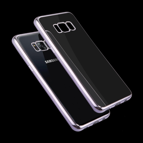 Buy For Samsung Galaxy S8 Electroplating Frame Soft TPU Protective Case, Grey for $1.16 in SUNSKY store