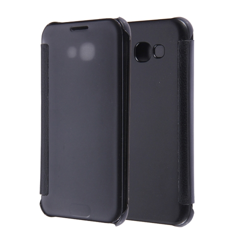 Buy For Samsung Galaxy A3, 2017 / A320 High Transparency Horizontal Flip Leather Case with Sleep / Wake-up Function, Black for $2.83 in SUNSKY store