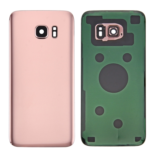 Buy iPartsBuy for Samsung Galaxy S7 Edge / G935 Original Battery Back Cover with Camera Lens Cover (Rose Gold) for $5.78 in SUNSKY store